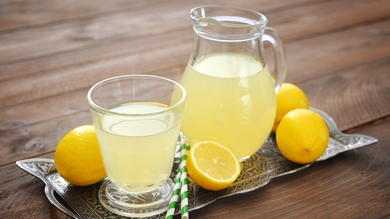 Fresh Lemonade Bar